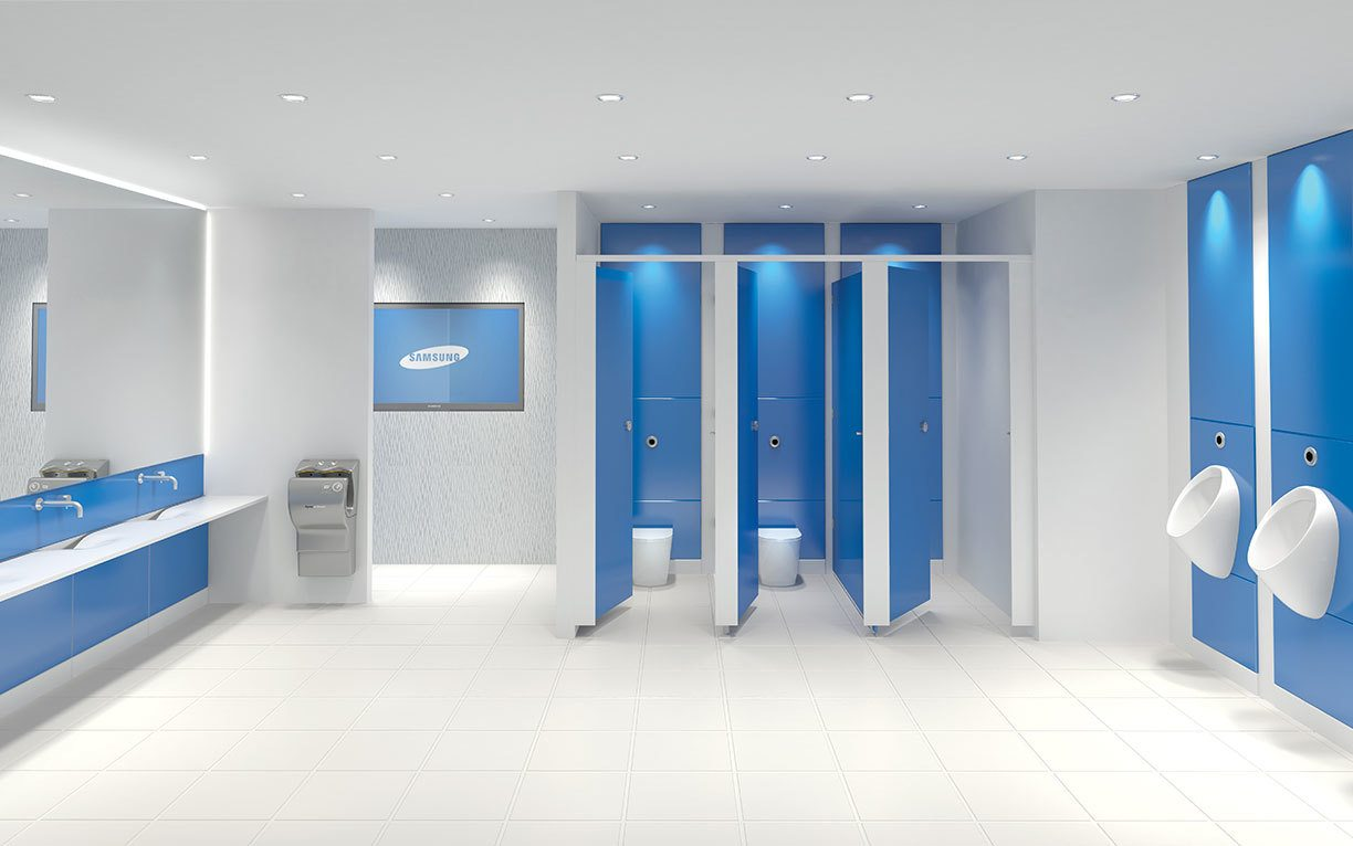 Eclipse Glass Toilet Cubicle Range Lan Services