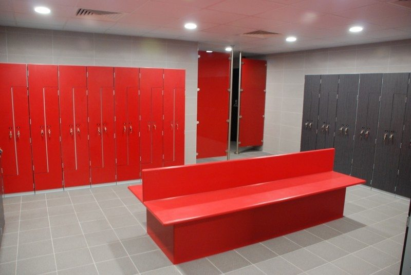 Sports Centre Changing Room Refurbishment Lan Services