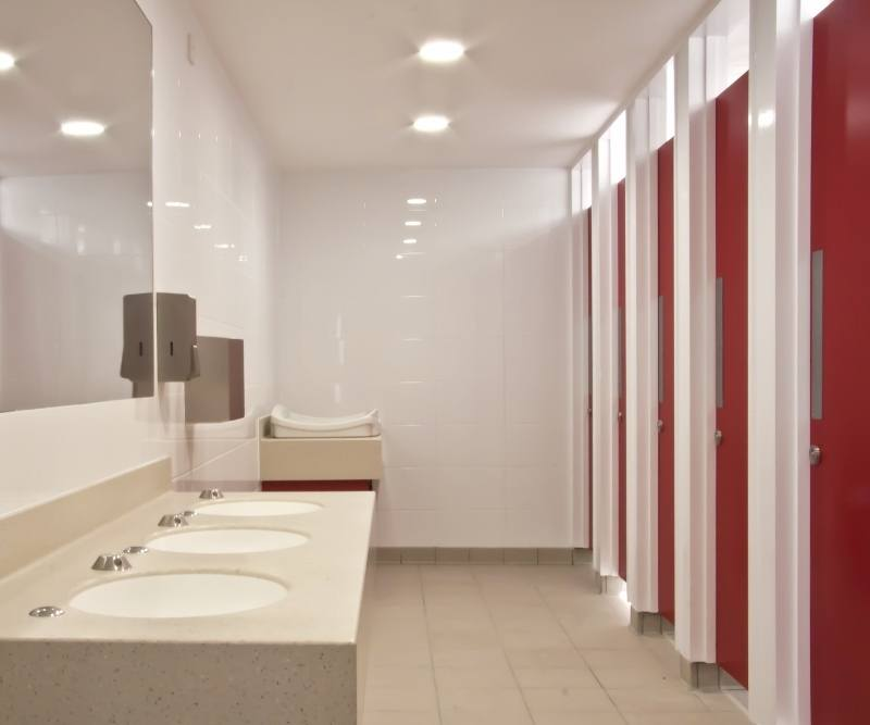 Washroom Design Of Public Toilets