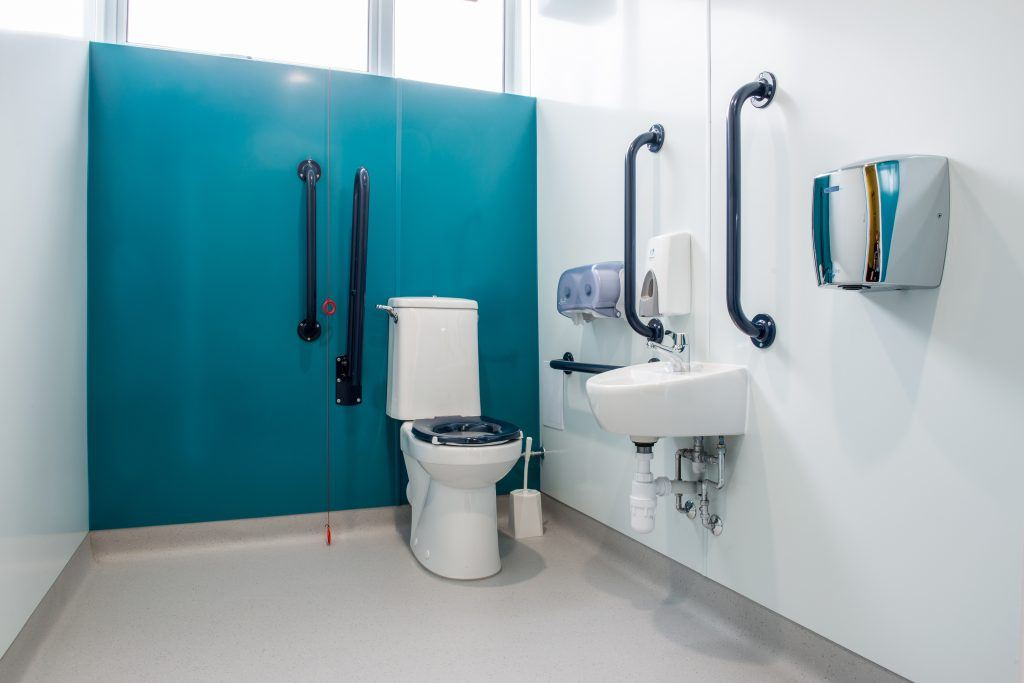 Disabled Toilets Refurbishment | Lan Services