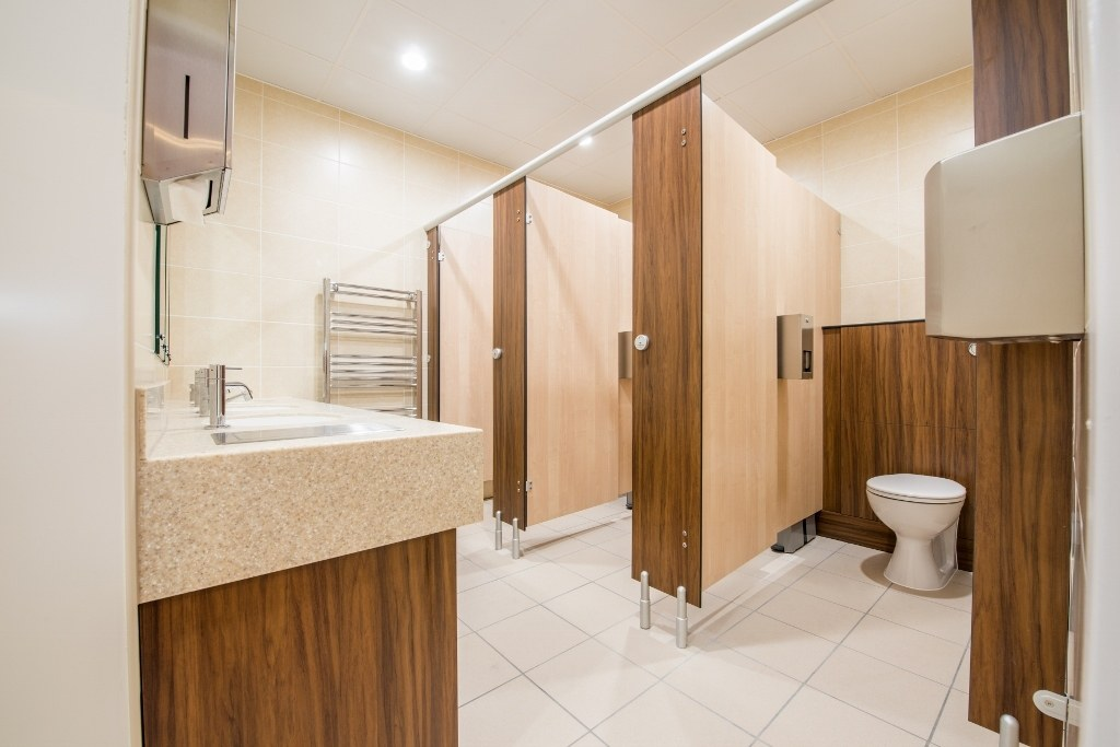 Ladies Toilet Refurbishment Arlesford Golf club
